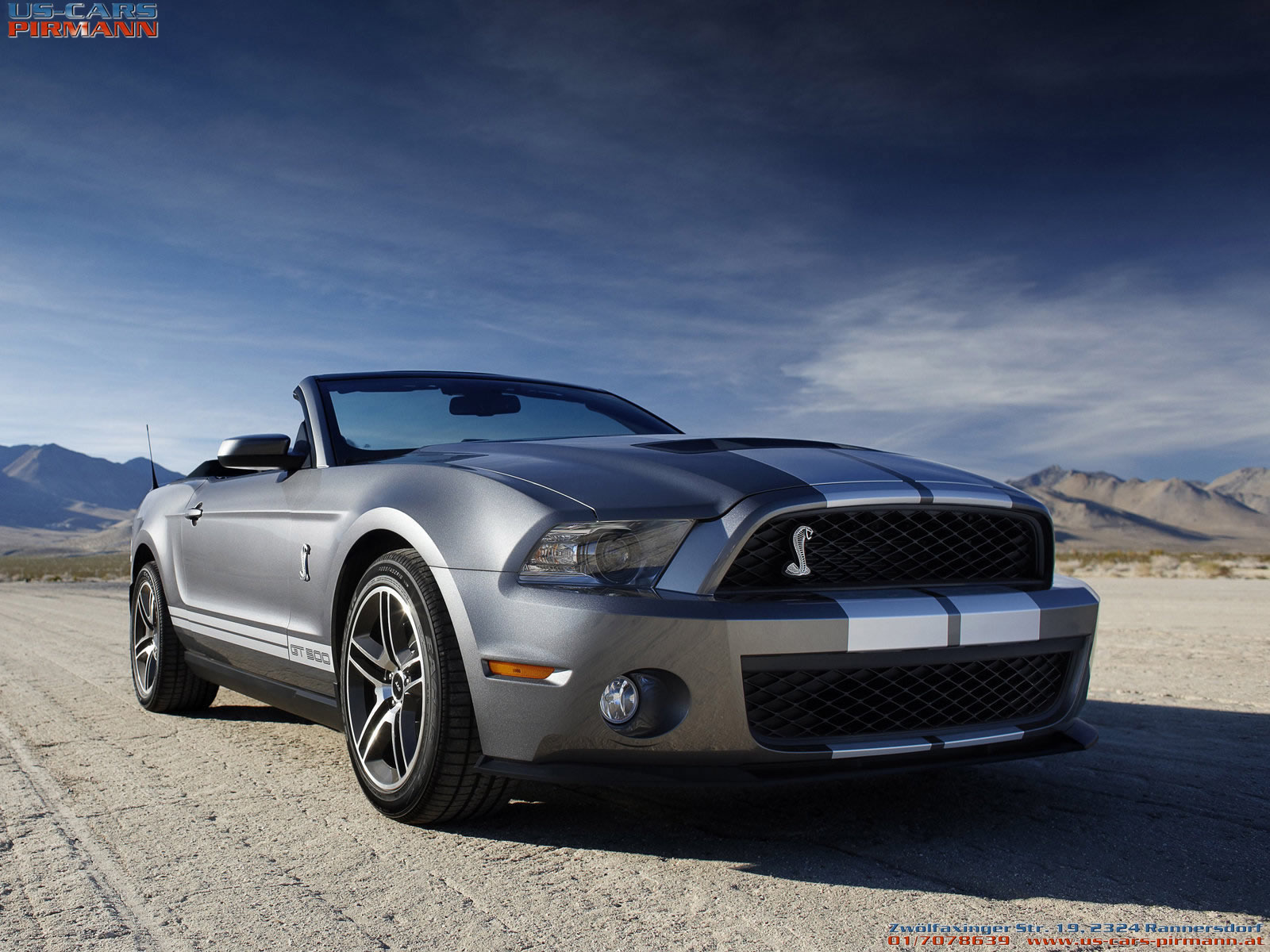 Ford mustang shelby gt 500 2010 1600x1200 wallpaper