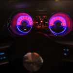 2011 Ford Mustang MyColor Tachometer